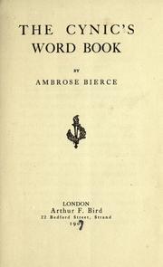Bishops' Dictionary